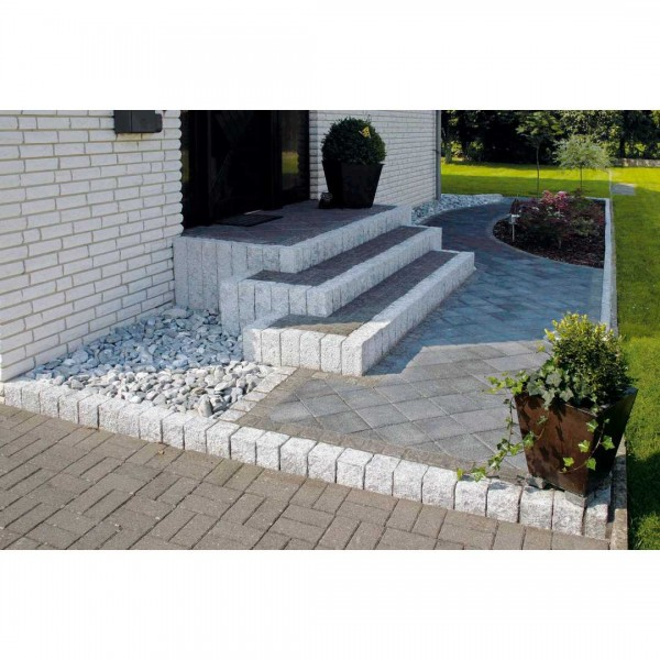 Granit-Palisade h-gr. 30x12x12cm
