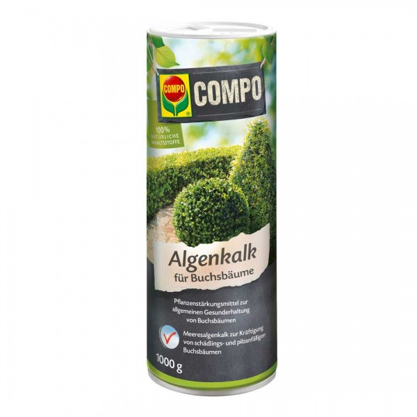Algenkalk für Buchsbäume 1 kg