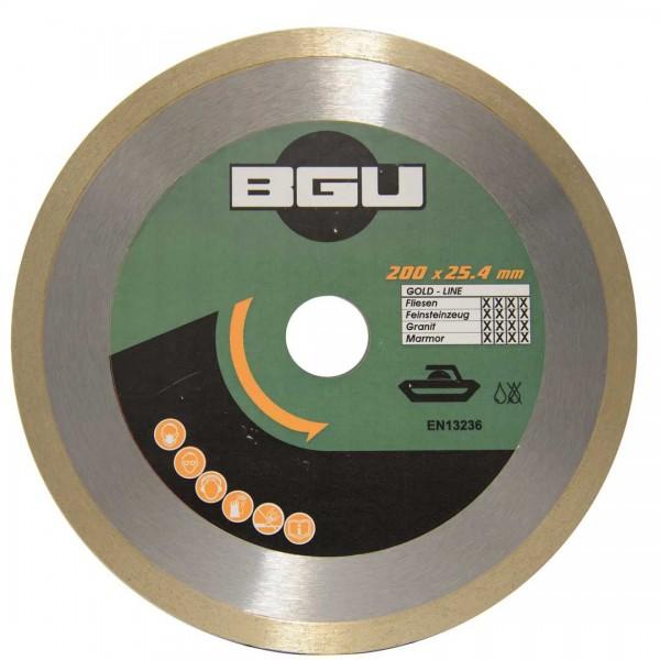 Dia-Blatt BGU Gold Line Ceram 200