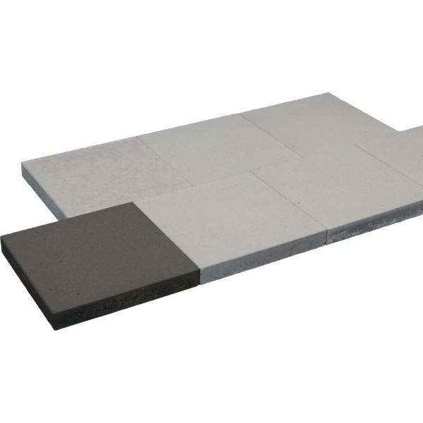 Gehwegplatte 40x40x5cm grau