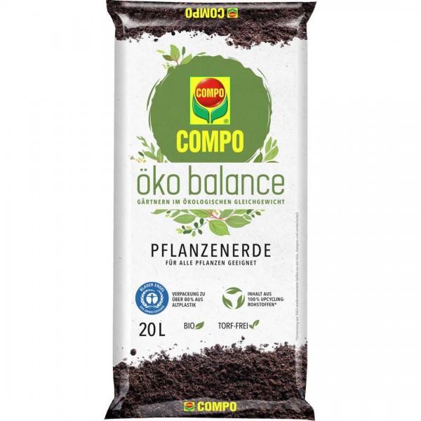 COMPO öko balance Pflanzenerde 20 L