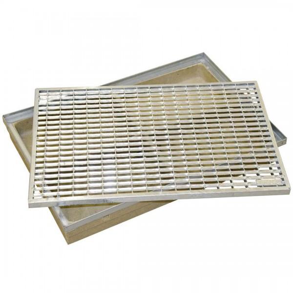 Maschenrost Stahl verz. 60x40