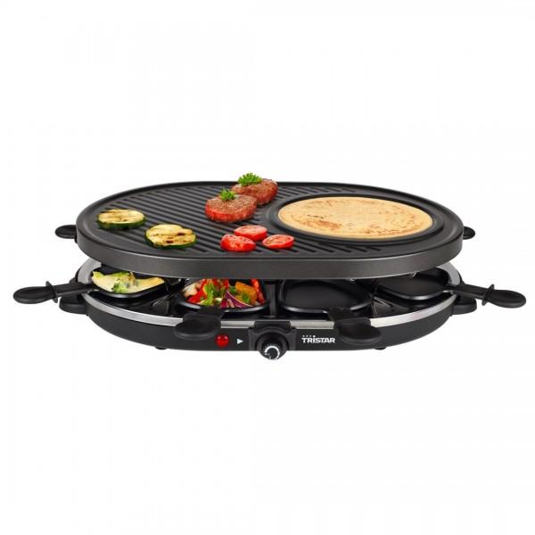 Raclette 8 Pfännchen 1200W