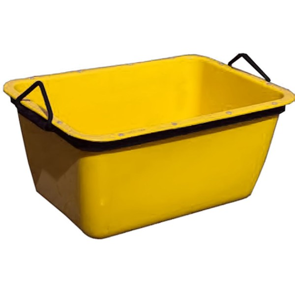 Fertigmörtelwanne orange/gelb200l