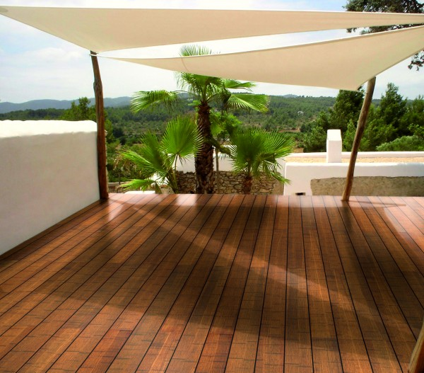 "Terrassendiele ""Bambus"""