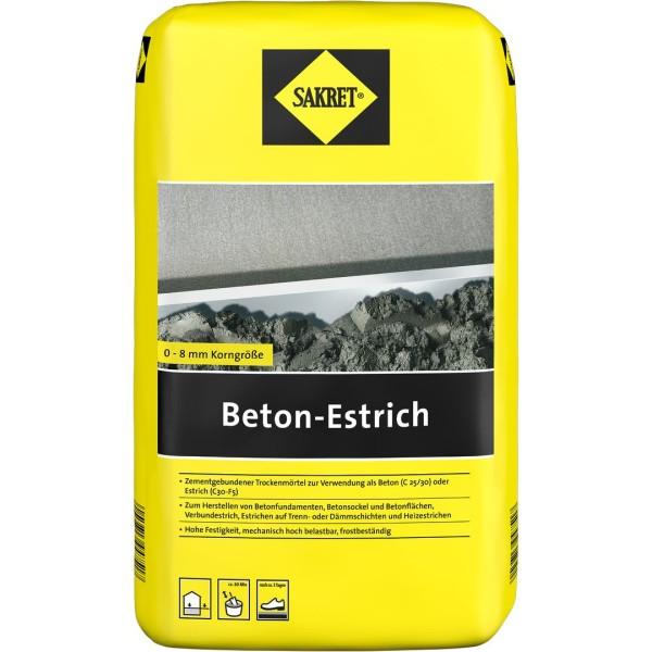 SAKRET Beton- Estrich 40kg