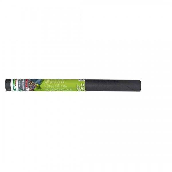 Unkraut-Vlies schwarz 10x0,9m