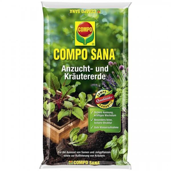 Compo Sana Anzucht-/Kräutererde 10 L Bio torffrei