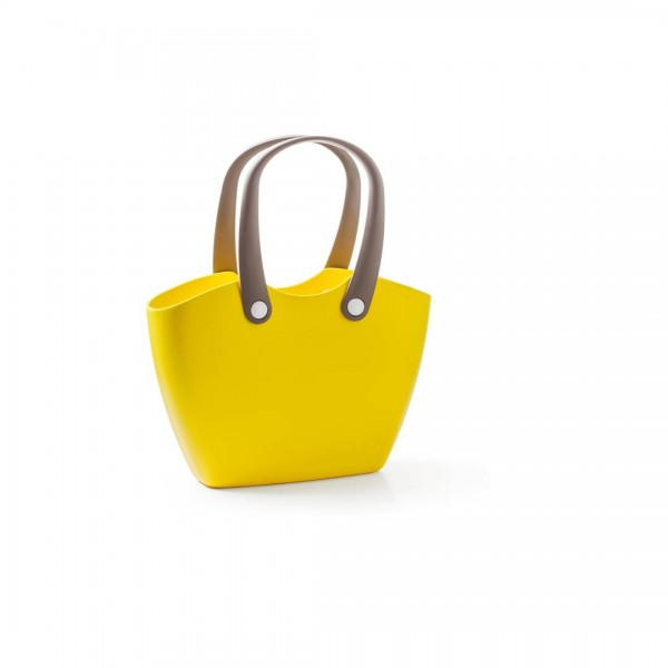 Handtasche FOR LIVING BAG Neugelb