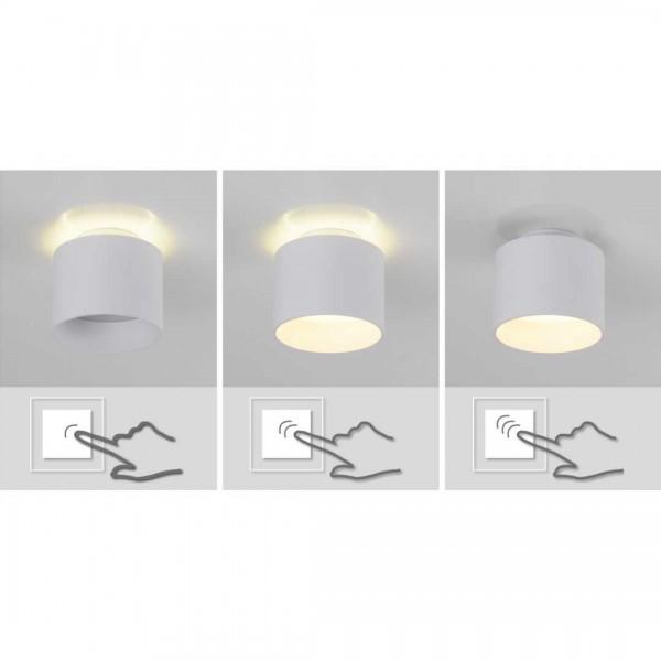 LED Spot Trios 14cm weiß