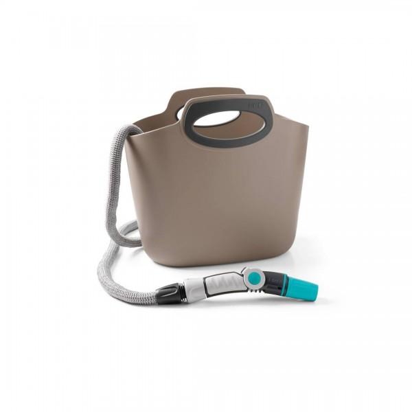 Aquapop 30m Flexschlauch mit Tasche - Grau