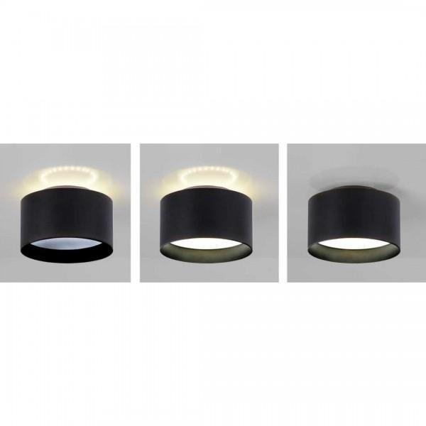LED Spot Trios 14cm schwarz