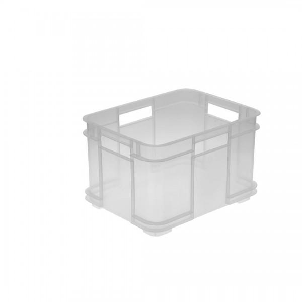 Euro-Box M transparent 16l