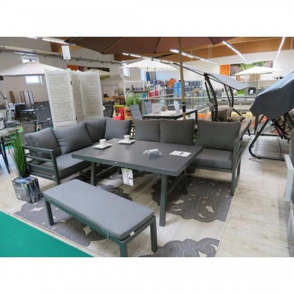 Dining-Sumbrella-Lounge 4tlg.Alu