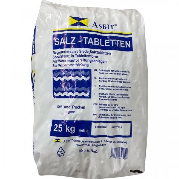 Salztabletten zur Wasserenth. 25kg