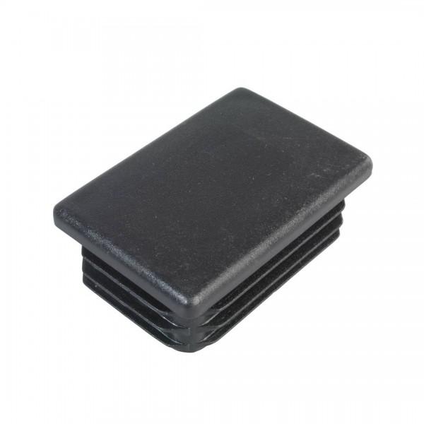 Pfostenkappe schwarz 60x40