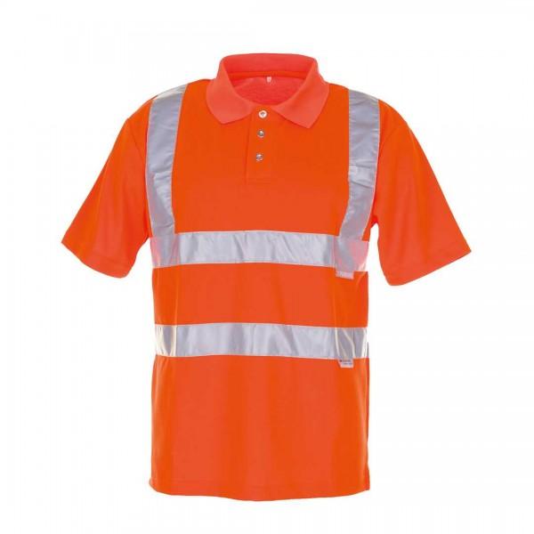 Polo-Shirt Warnschutz orange S