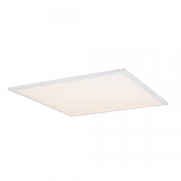 Deckenleuchte Aluminium weiß, 1xLED