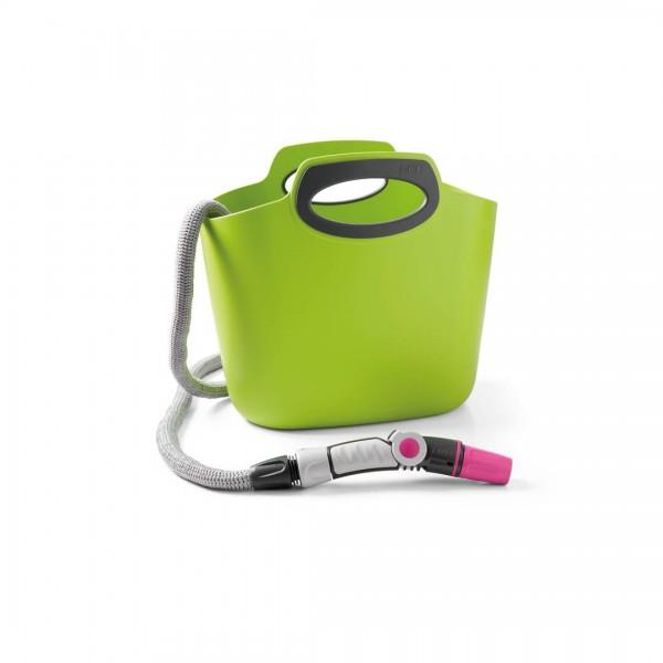 Aquapop 30m Flexschlauch mit Tasche - Lime