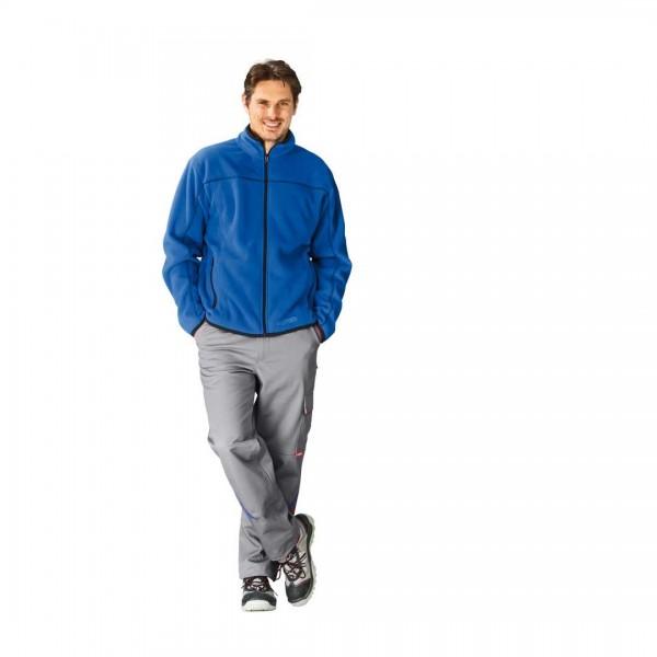 Fleece Jacke Inuit kornblau M