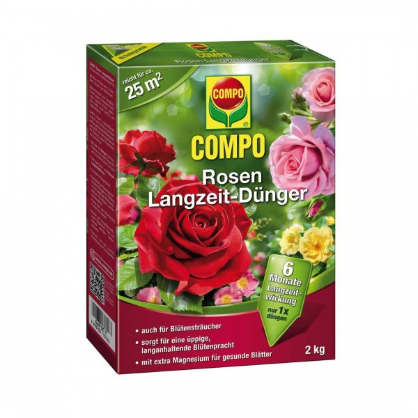 Compo Rosen Langzeitdünger 2kg